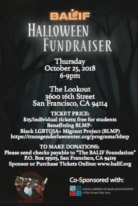 balif balif and aaba s 2018 halloween fundraiser benefing blmp
